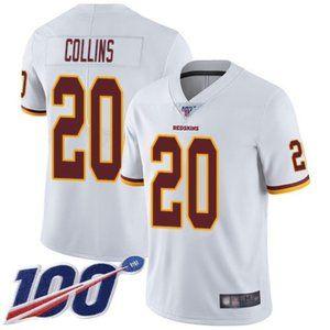 Washington Redskins Landon Collins 100th Jersey2